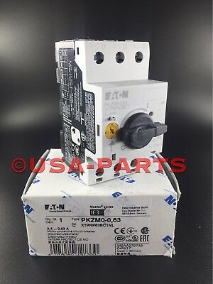 Eaton Moeller PKZM0-0,63 *** New In Box ** PKZM0-0.63 Ships Same Day!