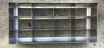 VWR Freezer Rack, Horizontal, 3-Shelf, Stainless Steel, 82024-518
