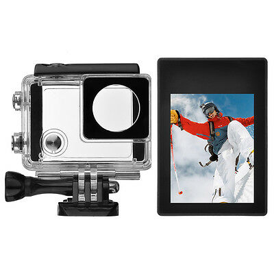 Pro LCD BacPac Display Viewer Monitor+Waterproof Screen Case for GoPro Hero 4 3+