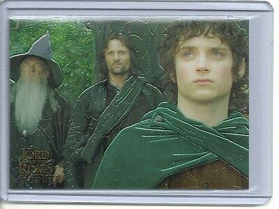 Topps CHROME Lord of the Rings TRILOGY P1 Promo card