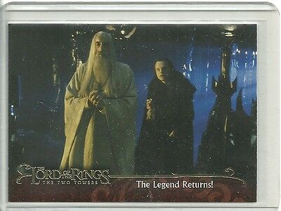 "2002 Topps Lord of the Rings  "" P1 Promo card ""  The Two Towers"