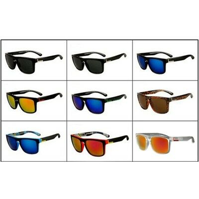 Fashion Square Frame Sunglasses for Men Driving Outdoor Sports Fishing Eyewear