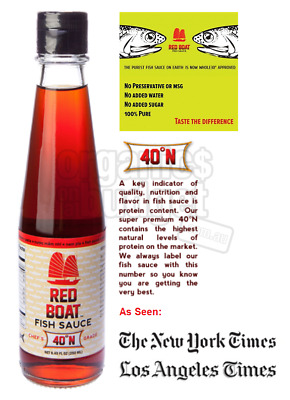 Red Boat Fish Sauce 40oN (Paleo Approved) 250ml
