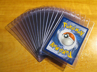 15x Plastic CARD SAVER II Semi-Rigid Storage CARDBOARD GOLD Pokemon/MTG/Sport 2