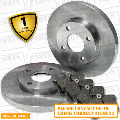 PEUGEOT 306 1.8 SALOON 108 drivetec rear brake pads 247 mm for Solid brake discs