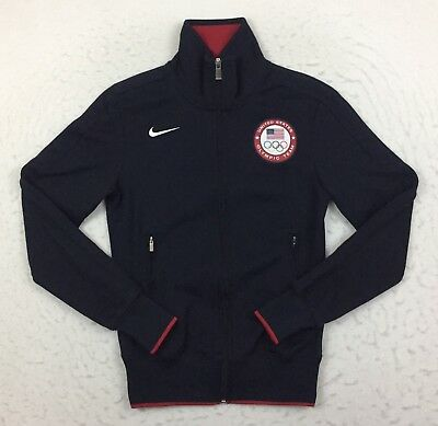 Nike USA United States 2012 London Olympic Team N98 Track Jacket Women's Small S