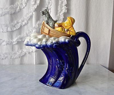Cardew Design Teapot Wave Fisherman Scotty Limited Edition Numbered 2293/5000
