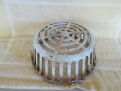Interesting Vintage Industrial Cast Iron Drain Cover or Roof Vent, Salvage