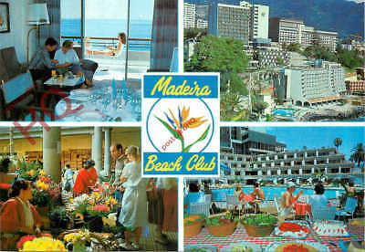 Picture Postcard:;Madeira Beach Club, Funchal (Multiview)