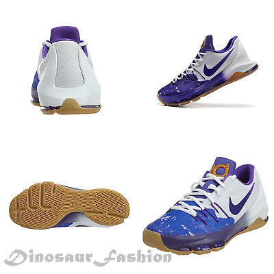 a3e223899af0 NIKE KD 8 QS (GS) Boys Shoes Peanut Butter Jelly Durant Purple ...