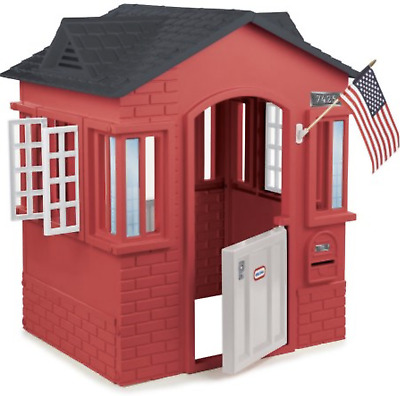 Outdoor Playhouse Backyard Toddler Playroom Tiny Houses for Kids Little Boys NEW