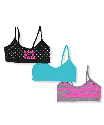 Icy Hot Girls' 3-Pack Seamless Bras