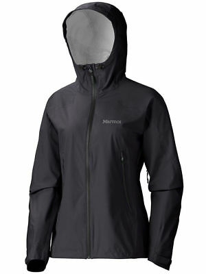 Marmot Adroit Jacket, Womens Waterproof, Black, XS