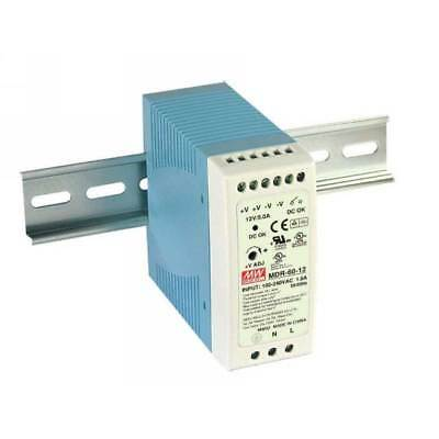 MDR-60-24 Mean Well Industrial Din Rail Power Supply 24V 2.5A 60W