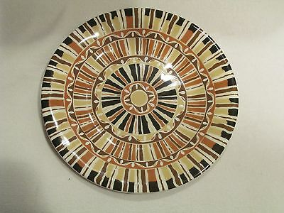 "Single 222 Fifth - Canyon - Round Salad / Accent Plate 9""  NEW / 8 Available"