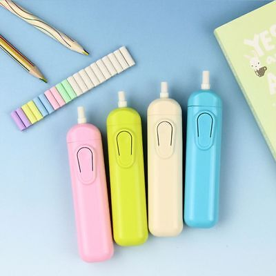 Eraser Drawing Accessories Electric Eraser With 20 Replacement School Supplies