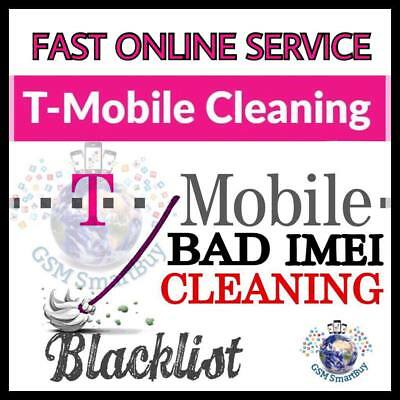 USA T-Mobile ESN / IMEI CLEANING UNBARRING iPHONE,Samsung INSTANT - 90 Minutes