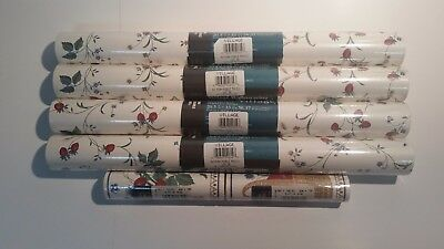 Village wallpaper 4 double rolls (model 591311) & 2 rolls of border(model 59130)
