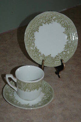 Royal Staffordshire - J & G Meakin - BOUNTIFUL - Cup Saucer Bread & Butter Plate