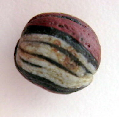 Ancient Islamic Glass Bead #24