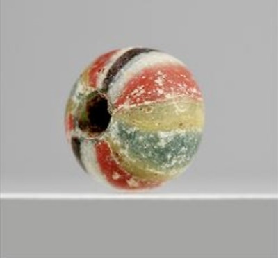 Rare Genuine Ancient Roman Mosaic Glass Bead c. 100BC - 400AD  #30