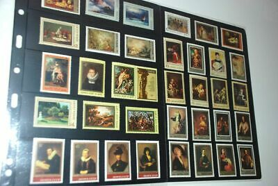 Russia Large MNH Collection Art, FAMOUS Hermitage Museum Painting