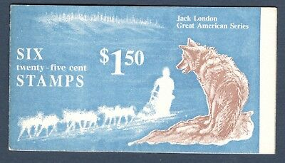 2197a (BK151) Jack London Booklet Mint/nh Selling @ Face