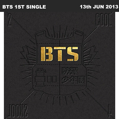 BTS 2 COOL 4 SKOOL 1st Single Album CD+Booklet+Photo book KPOP