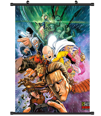 3896 Anime Genos One Punch Man wall Poster Scroll