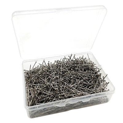 1600pcs Silver Pins Dressmaker Straight Point Pin Crafts Quilting Sewing Pins