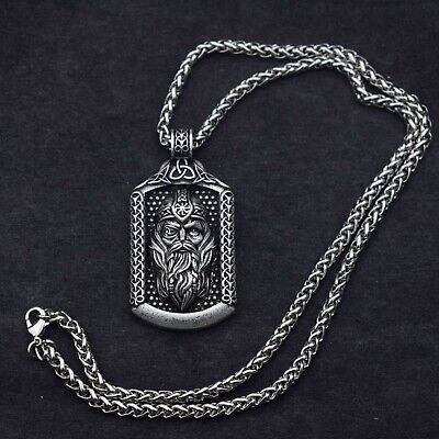 Valknut Odin 's Norse God Viking Slavic Pendant Necklace Viking Talisman