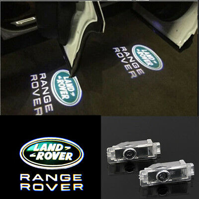 2X LED Logo door Projector light For Range Rover Sport Land Rover Discovery LR..