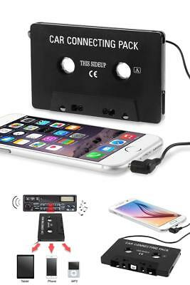 Car Cassette Player Adapter Music Audio Tape 3.5mm Aux Cable Cord For MP3 Phone