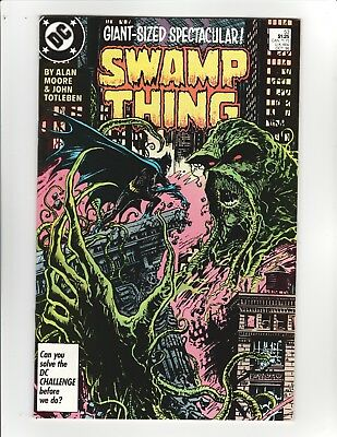 Swamp Thing (2nd Series) #53 - Batman appearance - 9.4 Near Mint, High Res Scans