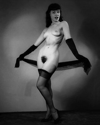 Bettie Page nude pinup 8x10 print 027