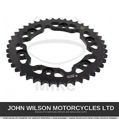 Honda VTR1000 SP1 SP2 Firestorm 00-06 Black Anodised 44T Rear Sprocket 530 Pitch