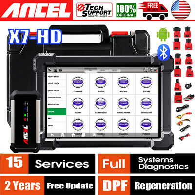 FOXWELL NT614 CAR ABS Airbag Engine Transmission EPB Oil Reset OBDII Scanner