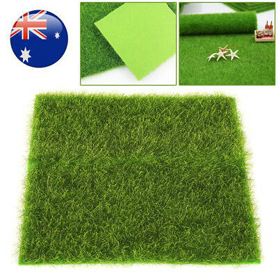2 x Sizes Outdoor Artificial Natural Look Grass Synthetic Turf Fake Lawn Garden