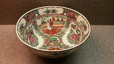 Vintage Japanese Porcelain Ware Bowl Hand Decorated Hand Painted