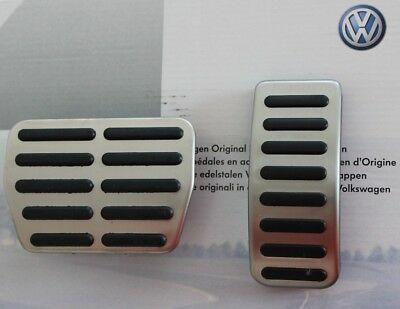 VW Amarok original pedal covers pads caps accelerator brake cover pad cap V6 TDI