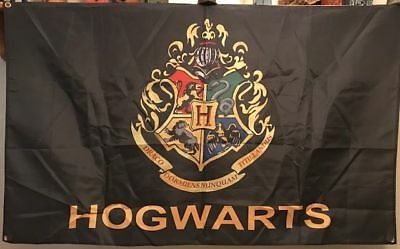 Hogwarts Banner / Flag Free Shipping From U.s.a