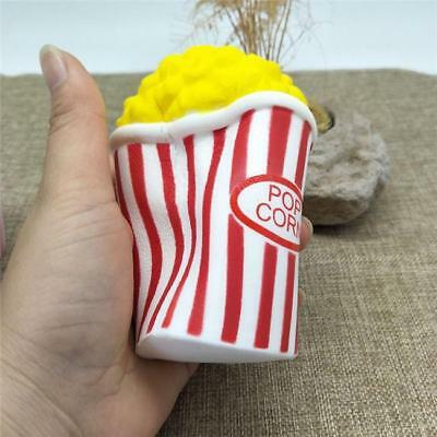 Soft Jumbo Squishy Popcorn Scented Super Slow Rising Food Gifts Toy Kid LJ