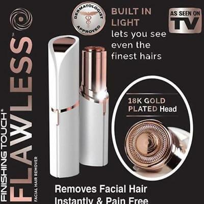 Finishing Touch Flawless Womens Painless Facial Hair Remover Trimmer Shaver *