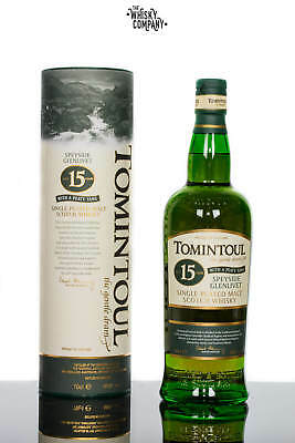 Tomintoul 15 Years Old Peaty Tang Speyside Single Malt Scotch Whisky (700ml)