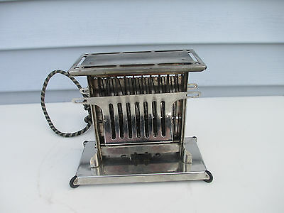 "Antique 2 Sided Toaster ""Bte S G du G"" #446548 E946 Great Britain"
