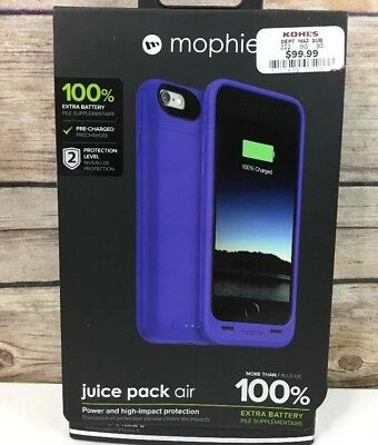 Mophie Juice Pack Air - Slim Protective Mobile Battery Pack Case for iPhone 6/6s