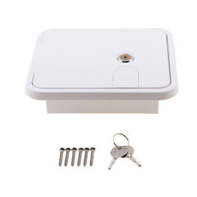RV Caravan Marine Access Hatch Mini Door Great Wall Line Cord Outlet Hole