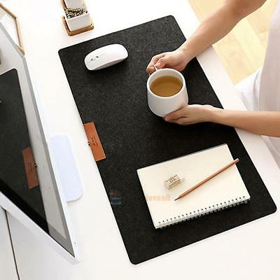 1xLarge Simple Felt Anti-Slip Table Computer PC Desk Keyboard Game Mouse Pad Mat