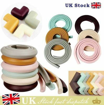 Baby Safety Corner Protection - Desk Table Cover Protectors Rolls Safe For Child