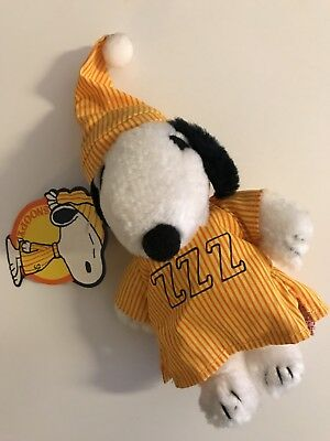 Snoopy Butterfly Peantus Original peluche Vintage anni 80 NEW!